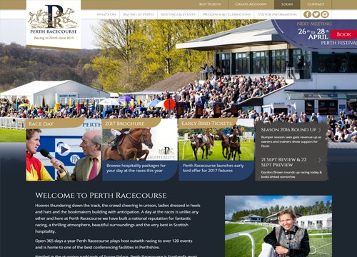 Book a day at Perth Racecourse